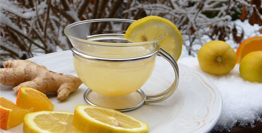 te limon con jengibre